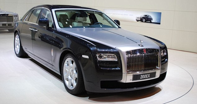 Elegance: The original and iconic Rolls-Royal Ghost model which sells for £220,000