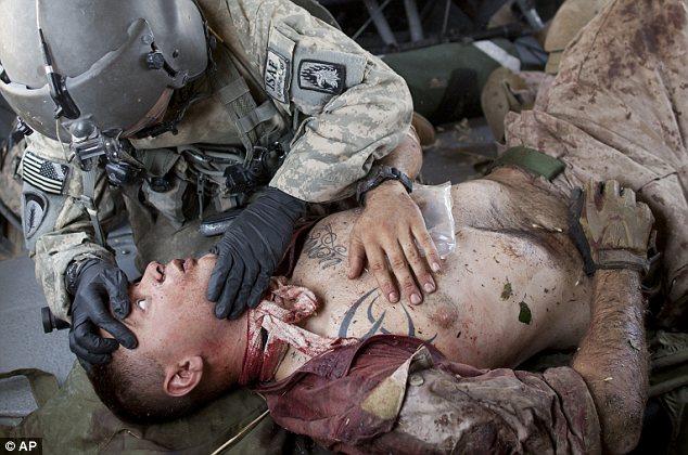 Injured Marine Cpl Burness Britt Recounts Blast That