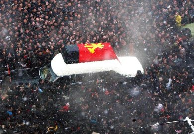 Kim Jong Il Funeral Millions Of Crying North Koreans Line