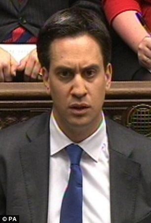 Toothless: Ed Miliband can hardly claim to be a man of the people like the pacifist Arthur Henderson