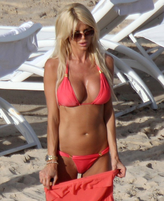 Victoria Silvstedt Shows Off Her Assets In Yet ANOTHER