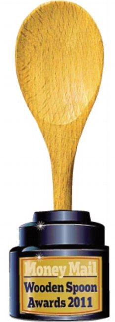 Customer service TalkTalk gets the Wooden Spoon award