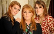 Royal team: Sarah Ferguson and daughters Beatrice, left, and Eugenie, right, travelled to Turkey together to make the undercover documentary for ITV