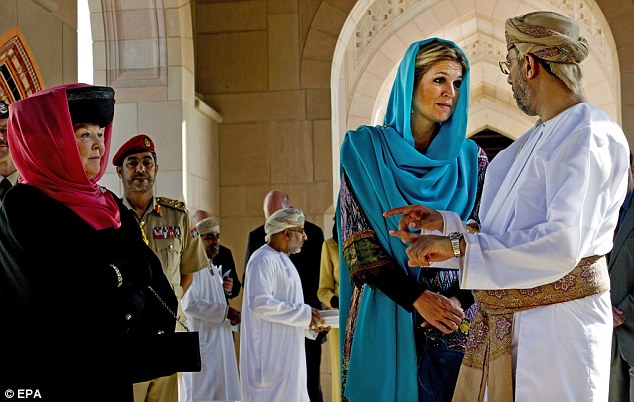 Opposition: In the aftermath of the September 11, 2001 terror attacks a wave of anti-Islam sentiment swept the Netherlands - and the queen's Oman visit has stirred things up again