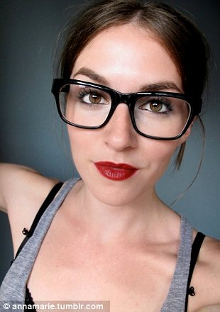 annamarie tendler blogger radically transforms herself for online make up tutorials daily