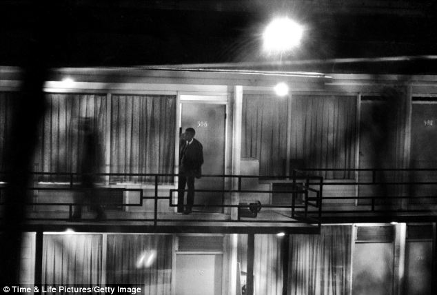 The haunting rarely seen pictures captured on the night for Balcony killer