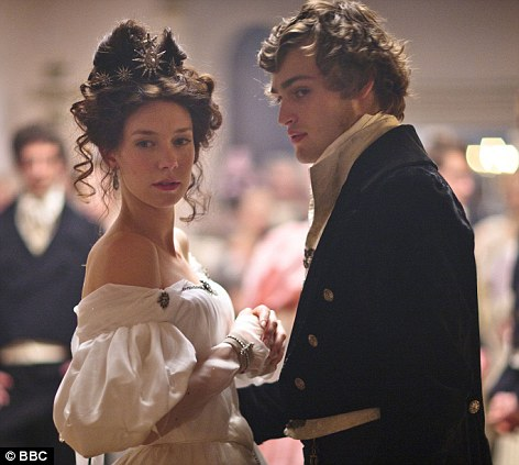 Co-stars: Vanessa Kirby and Douglas Booth in the recent BBC adaptation of Great Expectations