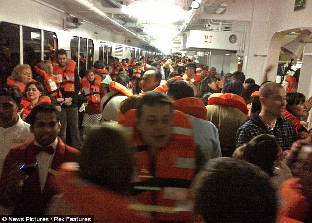 Costa Concordia cruise ship accident French survivor