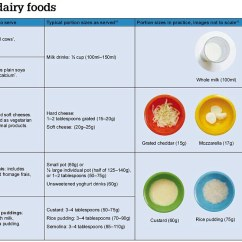 Diagram Food Guide Foot Nerve Endings 80 Page On How To Feed Toddlers Includes Actual Size Guidance Milk And Dairy Foods