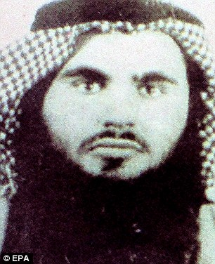 Jordanian authorities released this picture of Qatada in 2008 under his name of Omar abu Omar