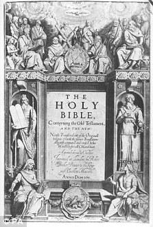 A King James Bible
