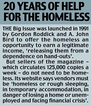 The Big Issue: 20 years of help for the homeless