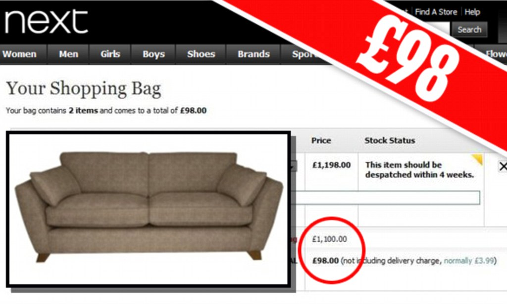 cheap sofa sets online uk coaster delange casual black faux leather power reclining next mistakenly sells 1 198 sofas for 98 after discount glitch