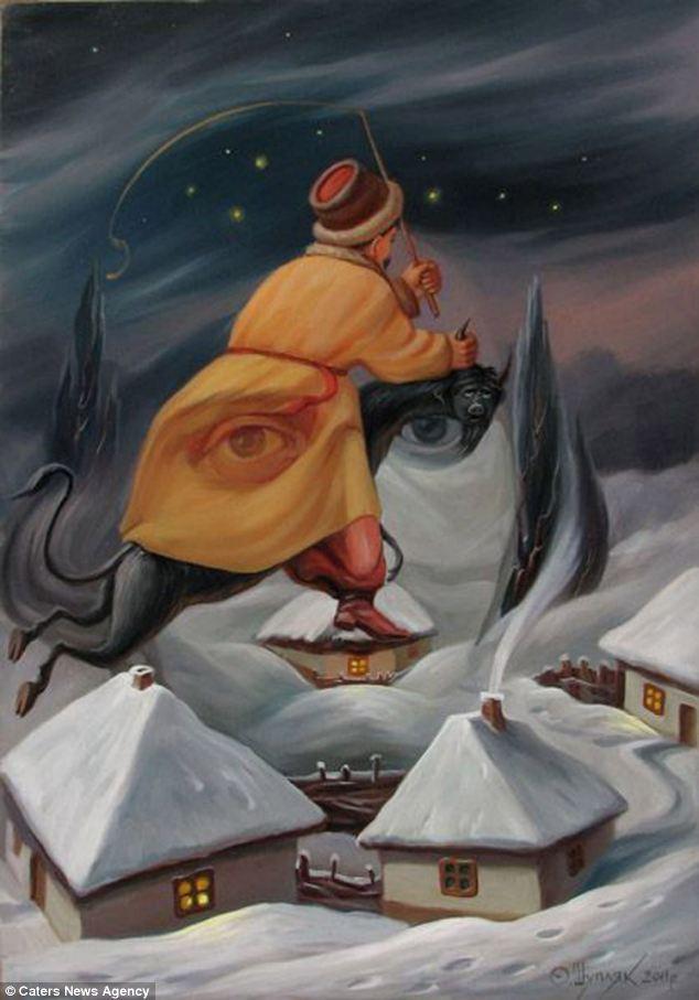 Oleg Shuplyak More Of The Intricate Oil Paintings That