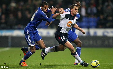 On his way: Axed striker Kevin Davies admits his future at Bolton is uncertain