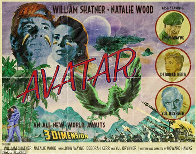 Retro: This vintage effort for Avatar casts William Shatner in the lead role, alongside Natalie Wood and John Wayne