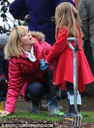 Kate Garraway Makes Motherhood Look Easy As She Entertains