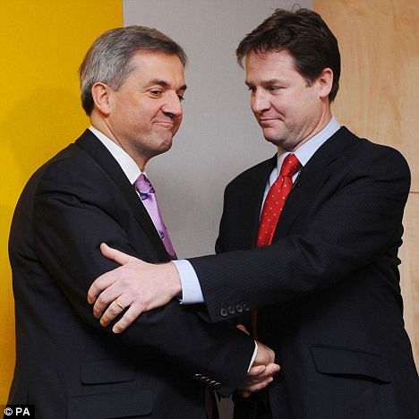 Clegg and Huhne
