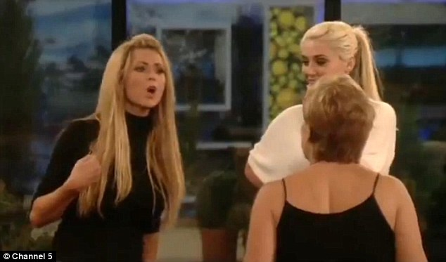 Denise Welch Nicola McLean fight