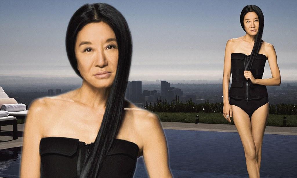 Vera Wang, 62, shows off age-defying body in Harper's Bazaar shoot ...