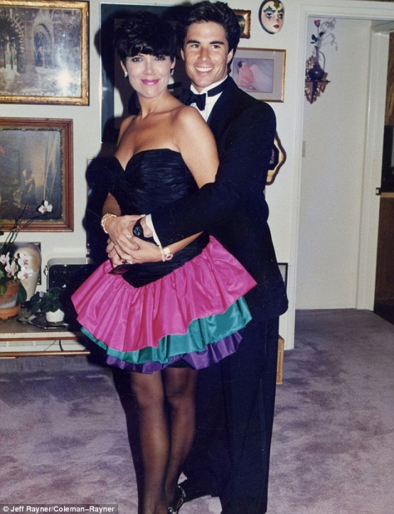 Memories: Todd pictured with Kris Jenner