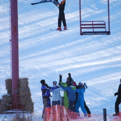 Ski Chair Lift Cover Hire Letchworth Boy Survives After Slipping Out Of And Falls 25ft Into Arms Open Fellow Skiers Rushed To The S Rescue He Slid