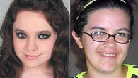 Safe and well: Teenagers Amber Henry (left) and Kirsten Kamradt (right) were discovered by U.S. marshals and FBI agents