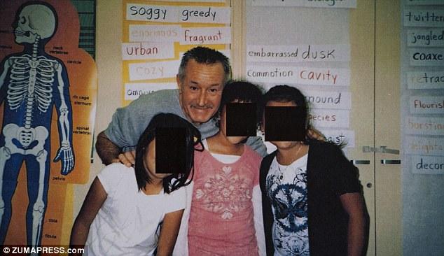 Veteran teacher: Mark Berndt, 61, taught at Miramonte Elementary School for more than three decades
