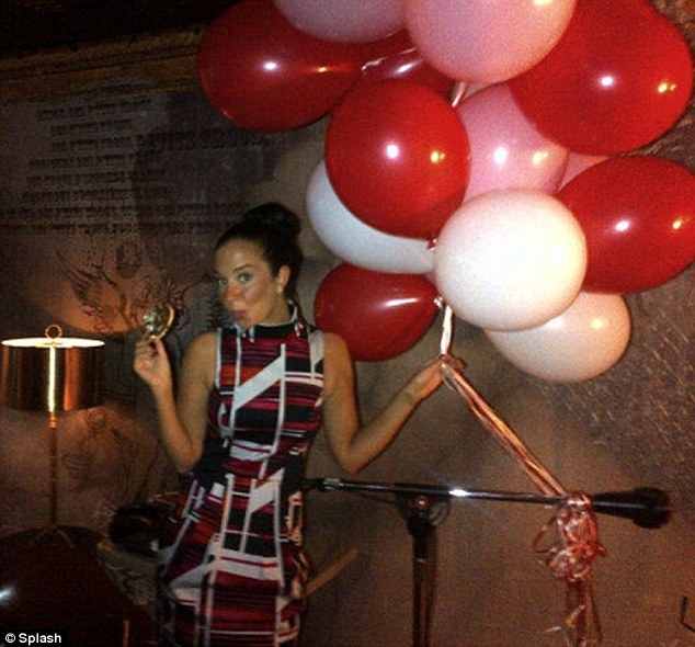 Tulisa Contostavlos Poses For Valentines PDA With Her PA