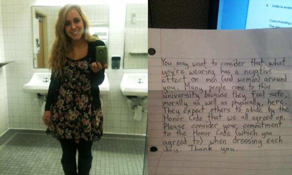 Female Student At BYU Passed Note By Male Stranger On