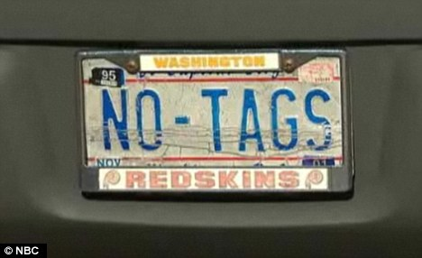 Joke's on him: Any abandoned vehicle missing its licence plate, until recently, was logged with a notice that read 'No tags'