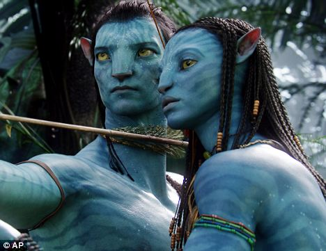 Science following fiction: In Avatar, pictured, human soldiers use mind control to inhabit genetically engineered proxies