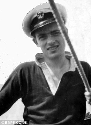 Bill sailing in 1948