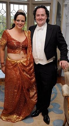 Mrs Harrison with her husband Jim