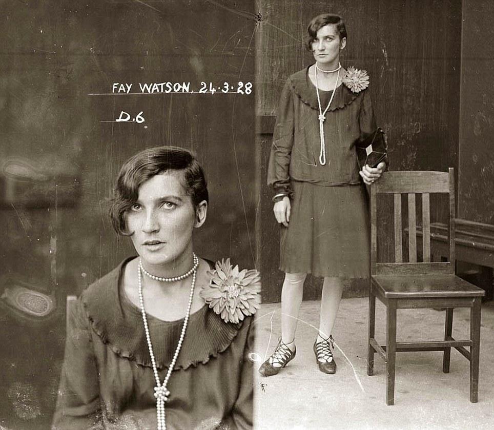 1920's australian mug shots