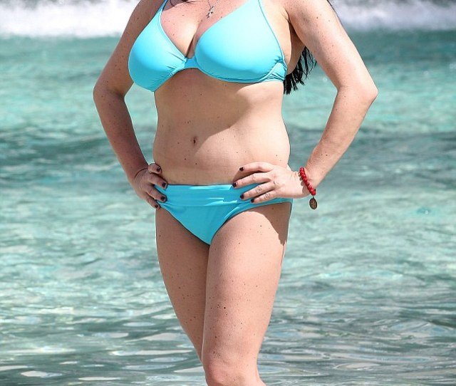 An Arresting Sight Mob Wives Star Renee Graziano Flaunts Her Very Voluptuous Figure In A