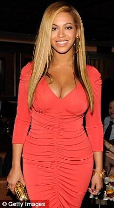 Beyonces waist Secrets of an Alist body  Daily Mail Online