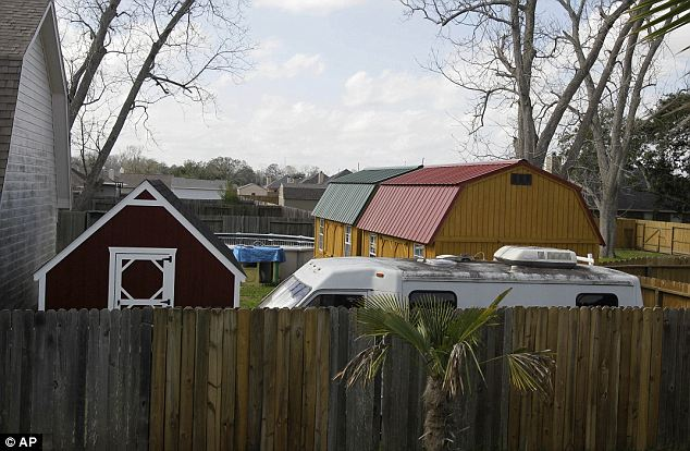 Extra housing needed: In total, there were 21 people living in the Texas home