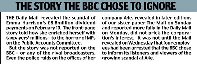It took the BBC until Wednesday to inform its viewers about the scandal