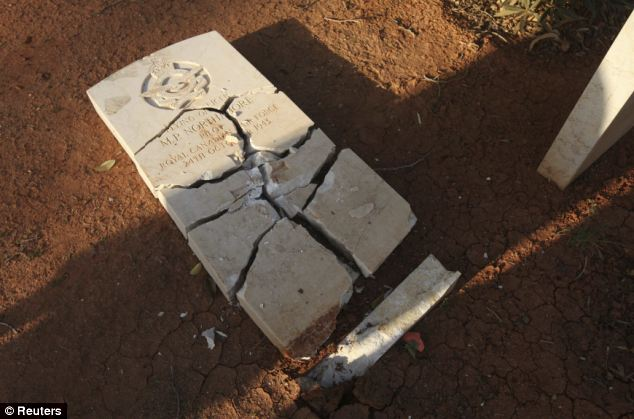 Sacrifice: Some 1,214 graves are marked in Benghazi War Cemetery