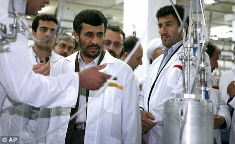 Secretive: Iran says it is developing nuclear technology for fuel reasons, but a lack of transparency has led Western powers to be suspicious