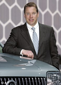 Mapping out the future: Bill Ford Jnr, the great-grandson of Henry Ford has spelled out his vision for the next 25 years and beyond on the roads