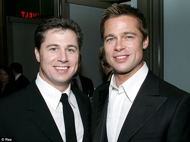You look just like that Brad Pitt! Doug Pitt has admitted he finds it sometimes frustrating to be mistaken for his older brother Brad