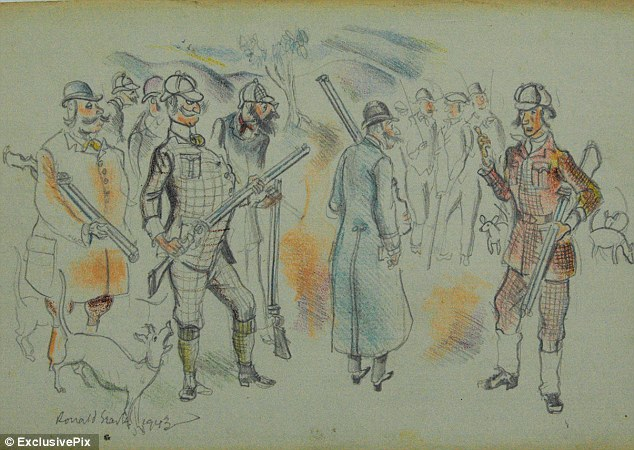 Ronald Searle Cartoons Drawn While Artist Was A Prisoner