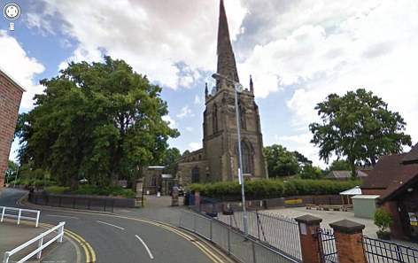 Target: St Mary's Parish Church in Hinckley was targeted by a group of thieves who stole lead from the roof on two consecutive days