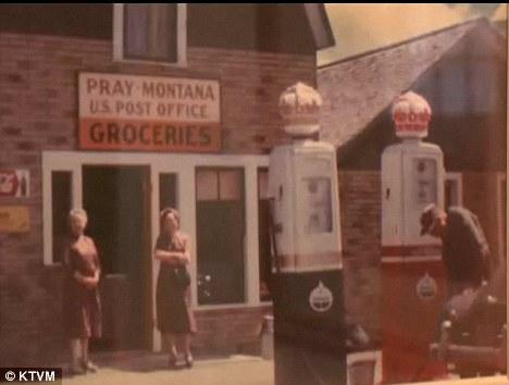 Historia: Fundada en 1907, la ciudad ha sido transmitido a través de familia de la señora Walker, de finales del marido durante tres generaciones con su madre Rubí Walker visto en el frente del almacén general aquí