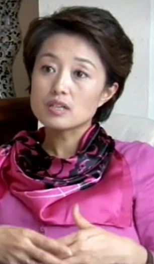 Haunted: Miss Ding, who also conceived of the programme, has had visions of the executed people she has interviewed