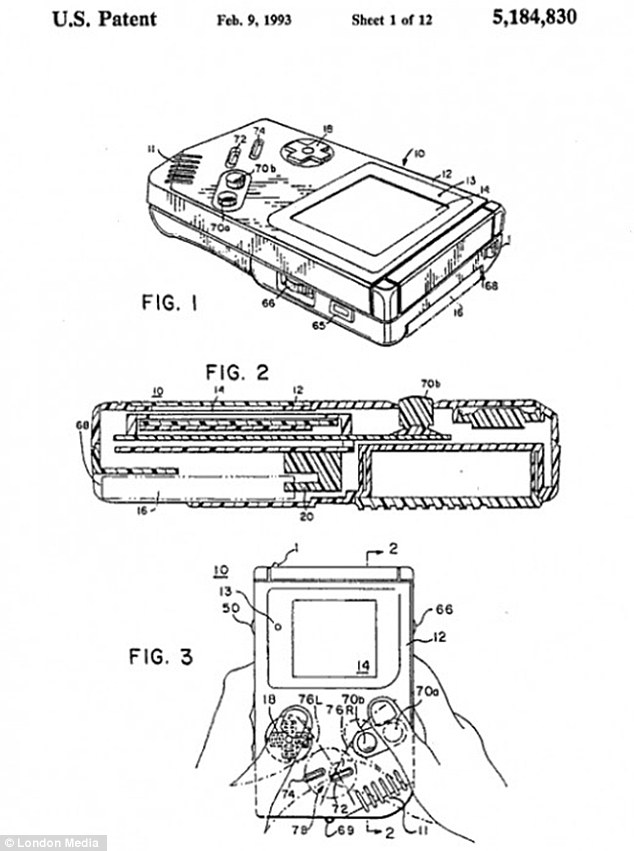 Collection of patent designs reveals simple ideas behind