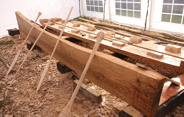 The boat was located during the construction of an underpass and sparked several frantic days of rescue excavations to save it from destruction