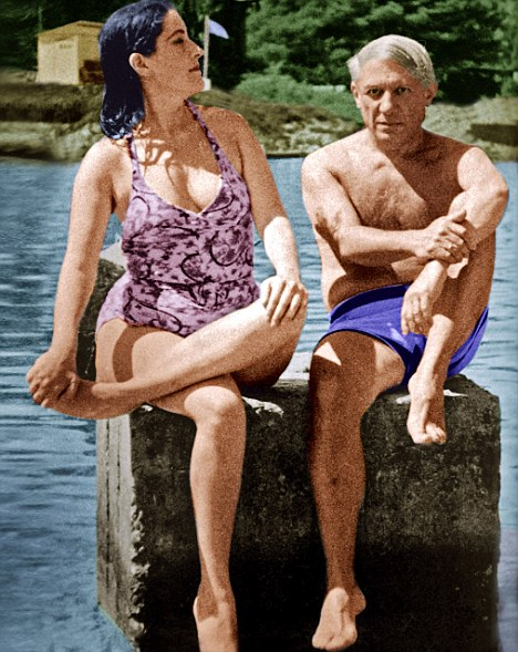 Passion: Picasso with lover Dora who once told him: 'As an artist you may be extraordinary, but morally speaking you are worthless.'
